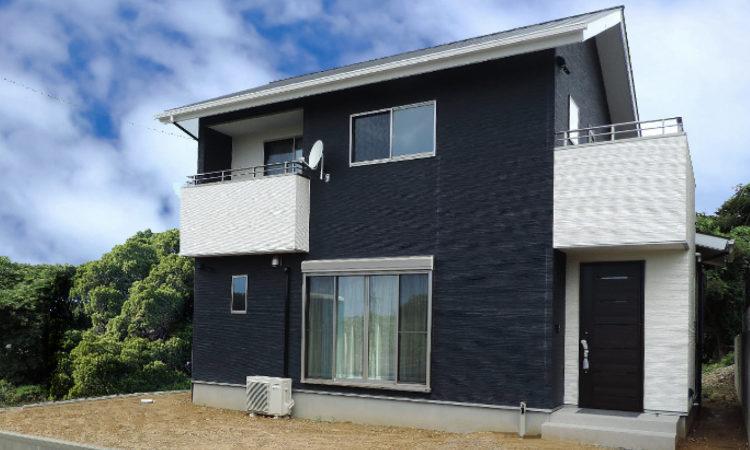 注文住宅|シンプルモダンな高台の家