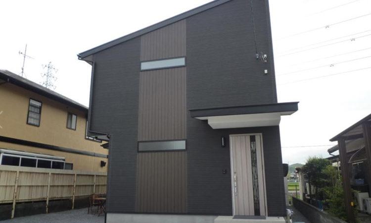 注文住宅|シンプルモダンなデザインにこだわった片流れ屋根の家