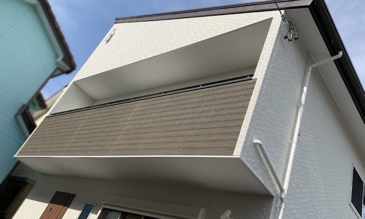 静岡市清水区32坪4LDKの家の外観画像