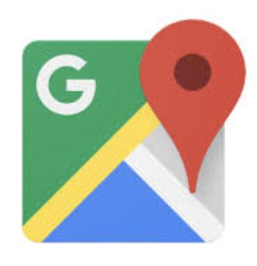 グーグルマップアプリのロゴ