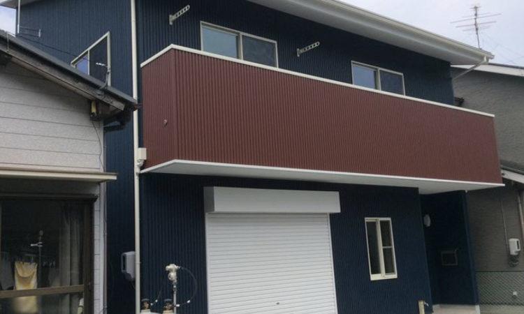 牧之原市32坪土間のある家の外観画像