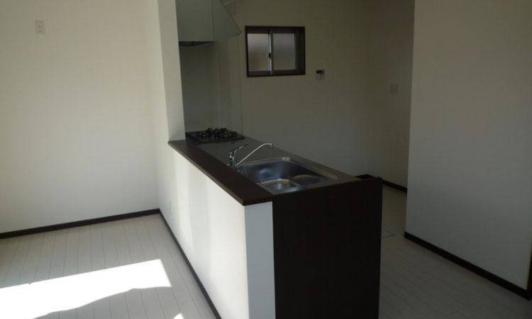 静波の注文住宅のキッチン画像