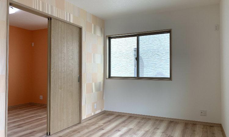 静岡市駿河区の28坪4LDK注文住宅の2階子供室の画像